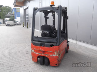 Linde E 16 - 01/386 three-wheel electric forklift