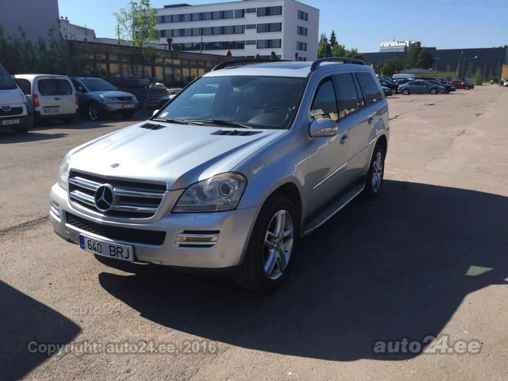 Mercedes benz gl 320 offroad package 4matic 195kw for 2008 mercedes benz gl450 accessories