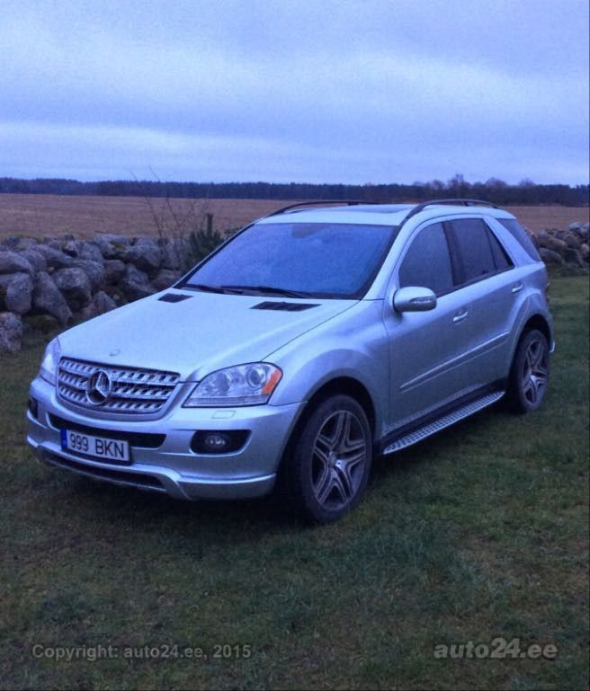 Mercedes benz ml 320 carlsson 3 2 v6 164kw for Mercedes benz 3 2 v6 engine