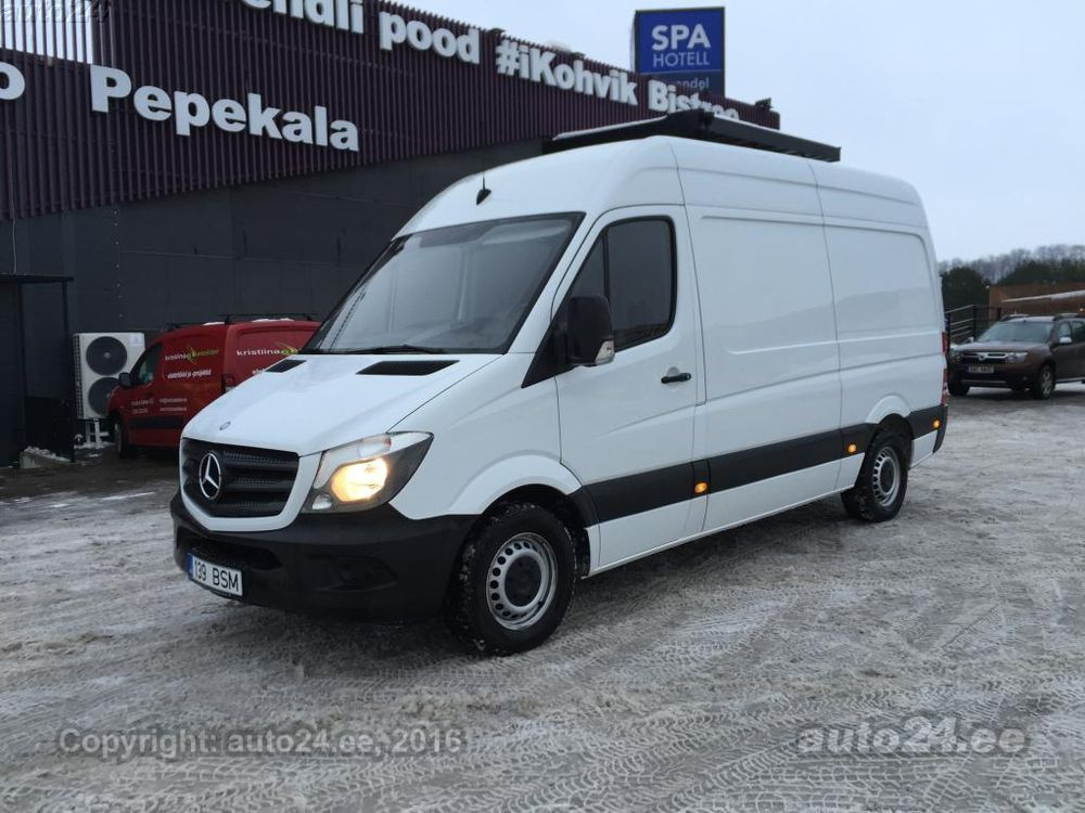 Mercedes benz sprinter 313 cdi 2 1 95kw for Mercedes benz cool springs