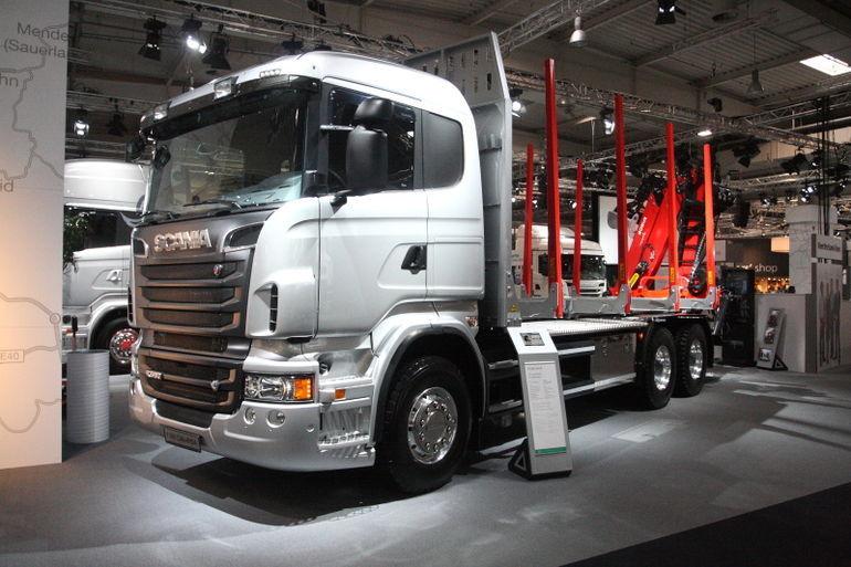 IAA 2012: Scania uudised piirduvad puhaste mootoritega