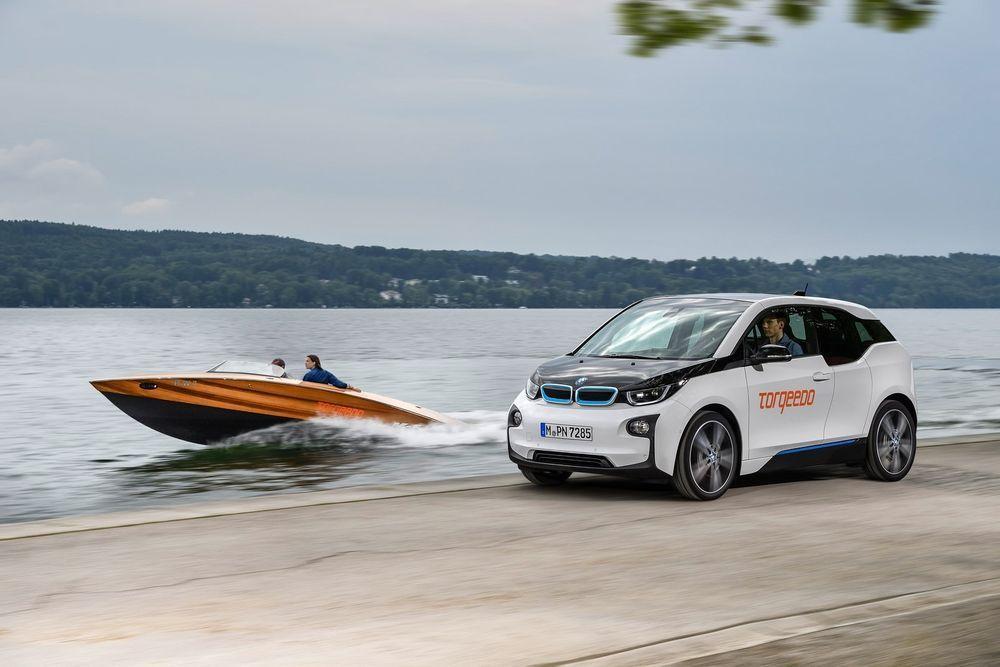 BMW i3 aku varustab vooluga mootorpaati