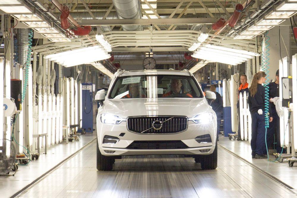 Volvo alustas XC60 seeriatootmist