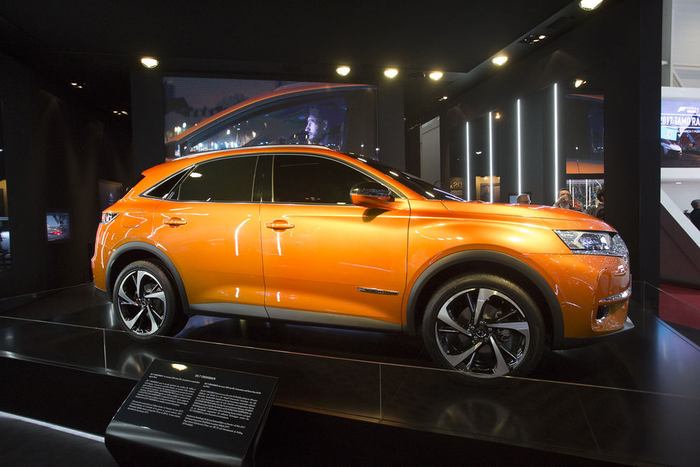 GENF 2017: DS 7 Crossback on luksusbrändi esimene oma auto