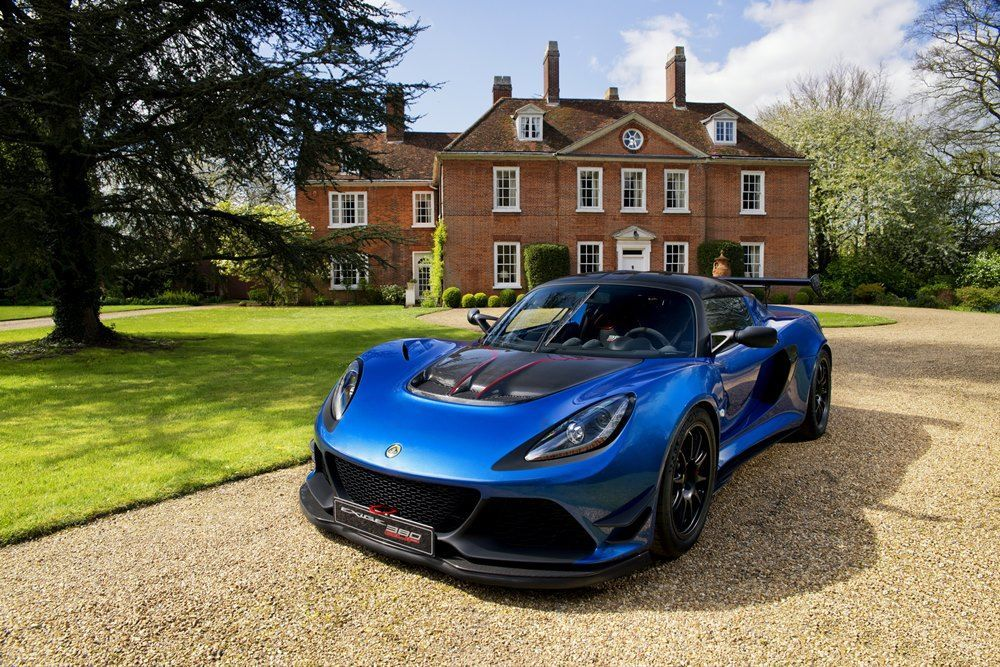 Lotus Exige Cup 380 - just ad lightness