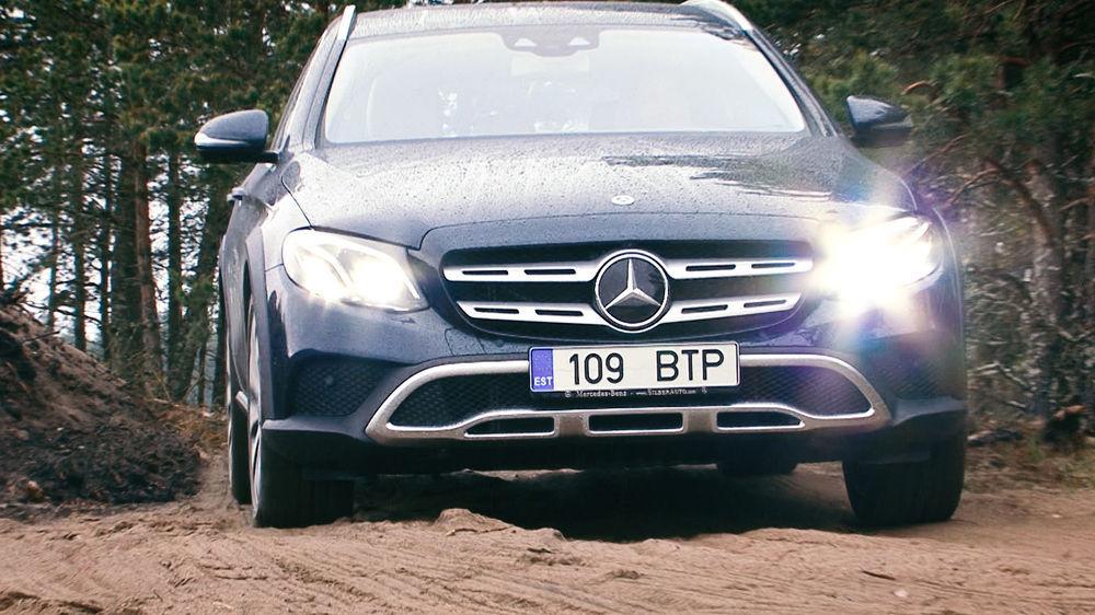 Motorsi proovisõit - Mercedes E220d All-Terrain