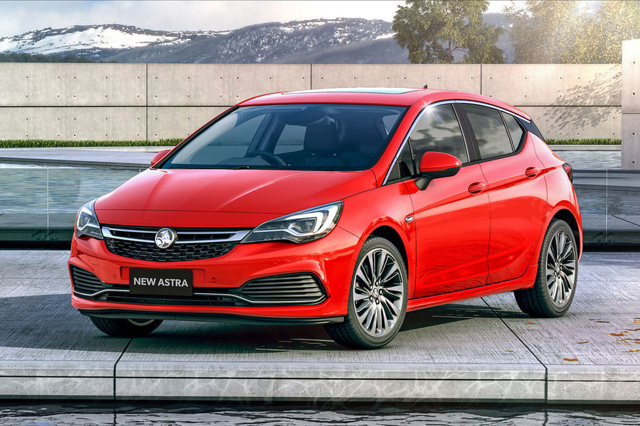 Opel Astra jõuab Austraalias müügile kui Holden Astra