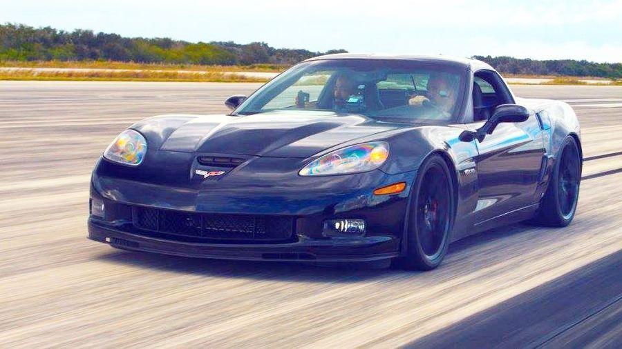 Elektriline Corvette kihutas 330,8 km/h