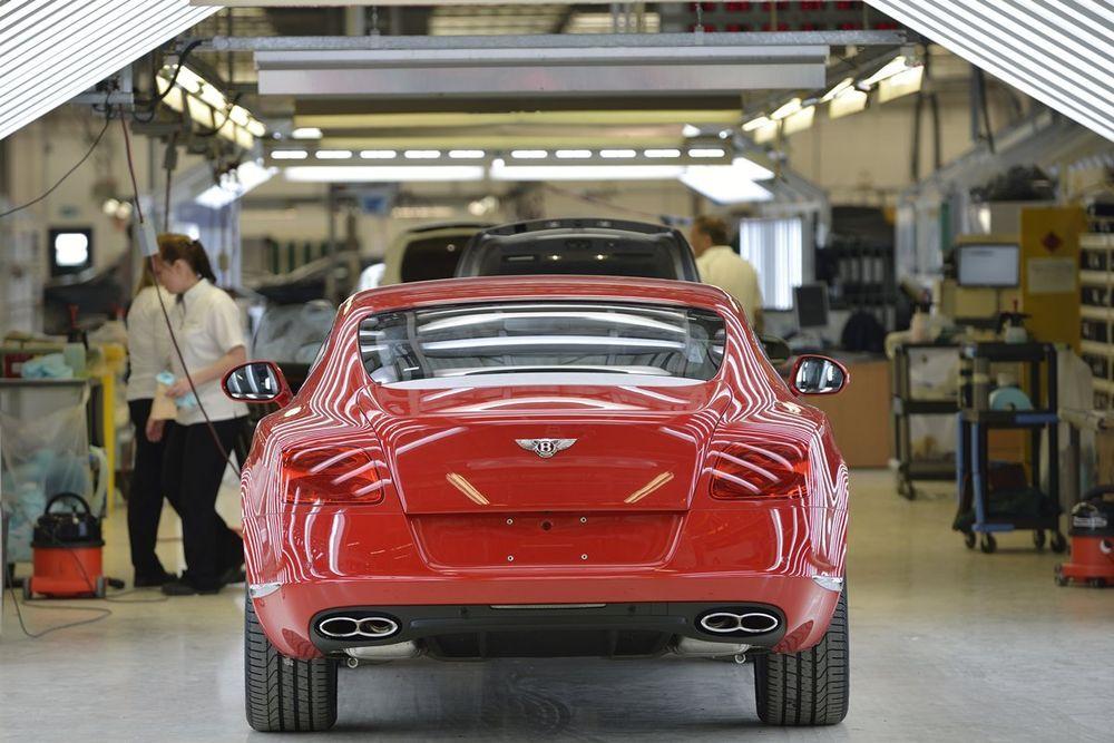 Brexit võib viia Bentley tootmise Inglismaalt