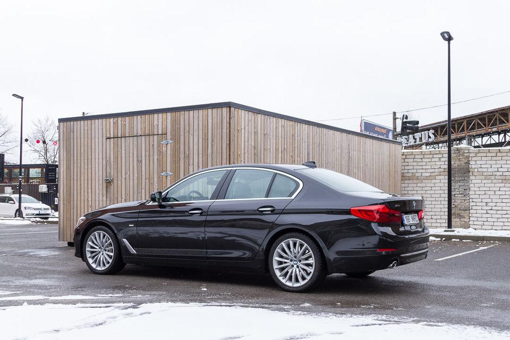 Motorsi proovisõit - BMW 5. seeria