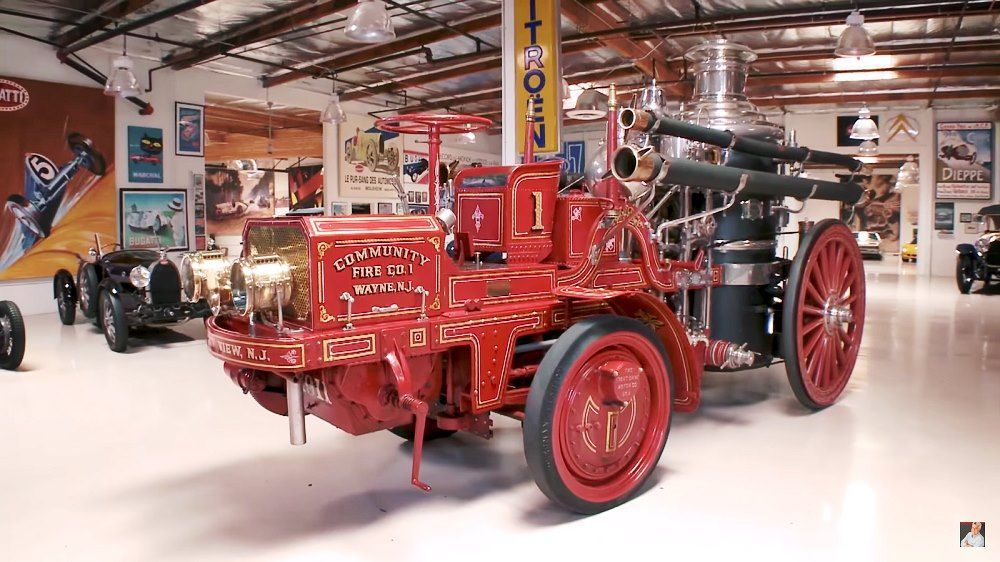 Jay Leno's Garage: 1911 Christie Fire Engine