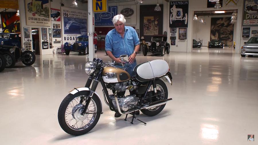 Jay Leno's Garage: Triumph Bonneville