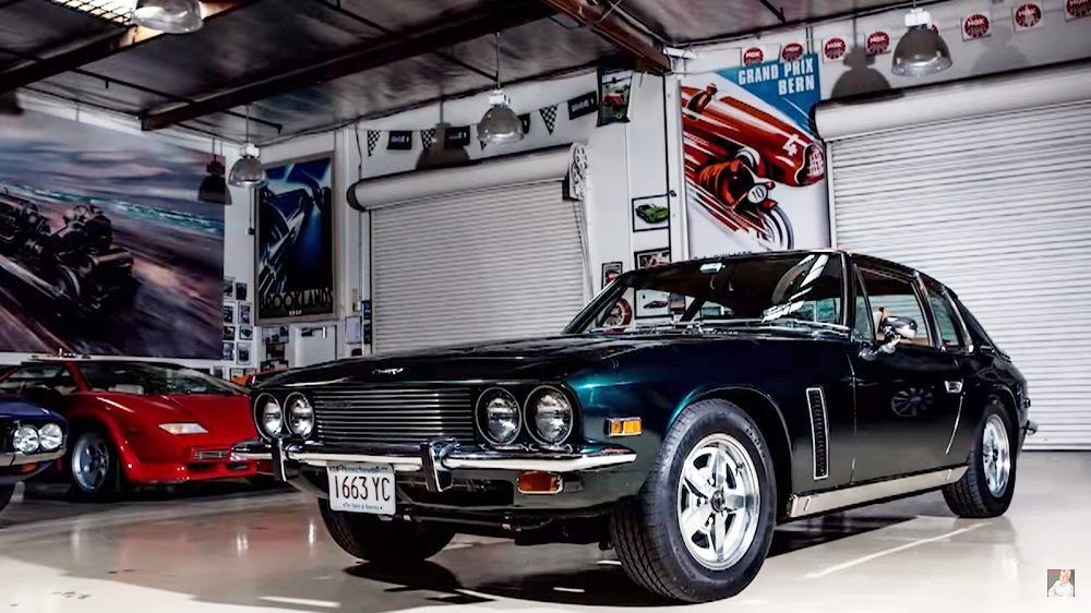 Jay Leno's Garage: Jensen Interceptor