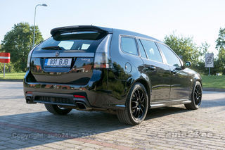 Saab 9-3 Turbo X Hirsch Performance 2.8 V6T 299kW