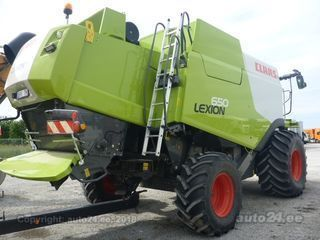 Claas Lexion 650 CAT