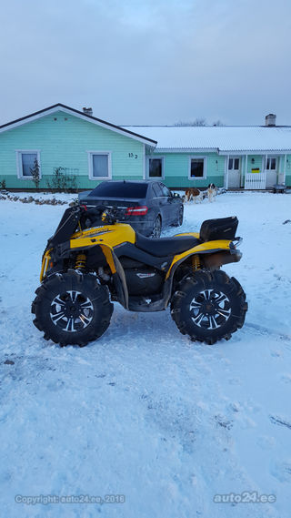 Can-Am 800 Renegade 53kW