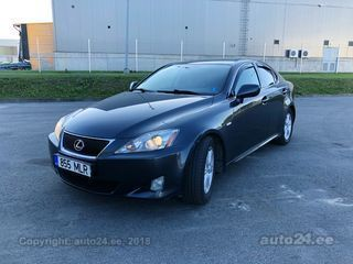 Lexus IS 250 XE2A 2.5 V6 153kW