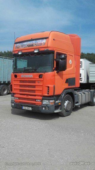 Scania R 124 LA4X2NA 420 309kW