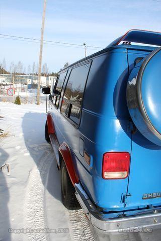Chevrolet Chevy Van g20 6.2 V8 90kW