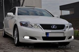 Lexus GS 450h Executive HYBRID White Pearl FACELIFT 3.5 218kW