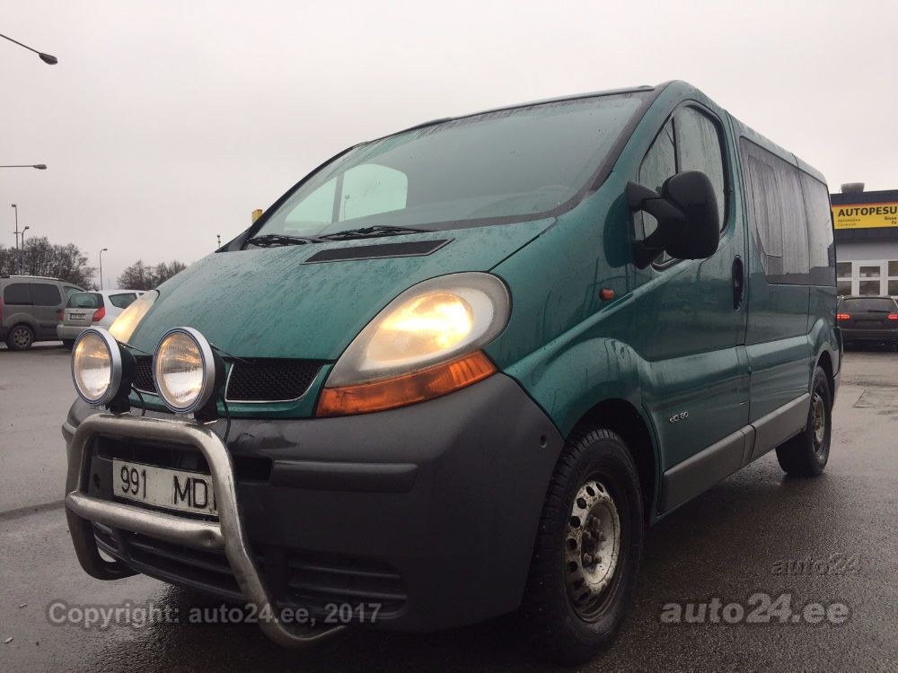 renault trafic 1 9 passenger dci. Black Bedroom Furniture Sets. Home Design Ideas