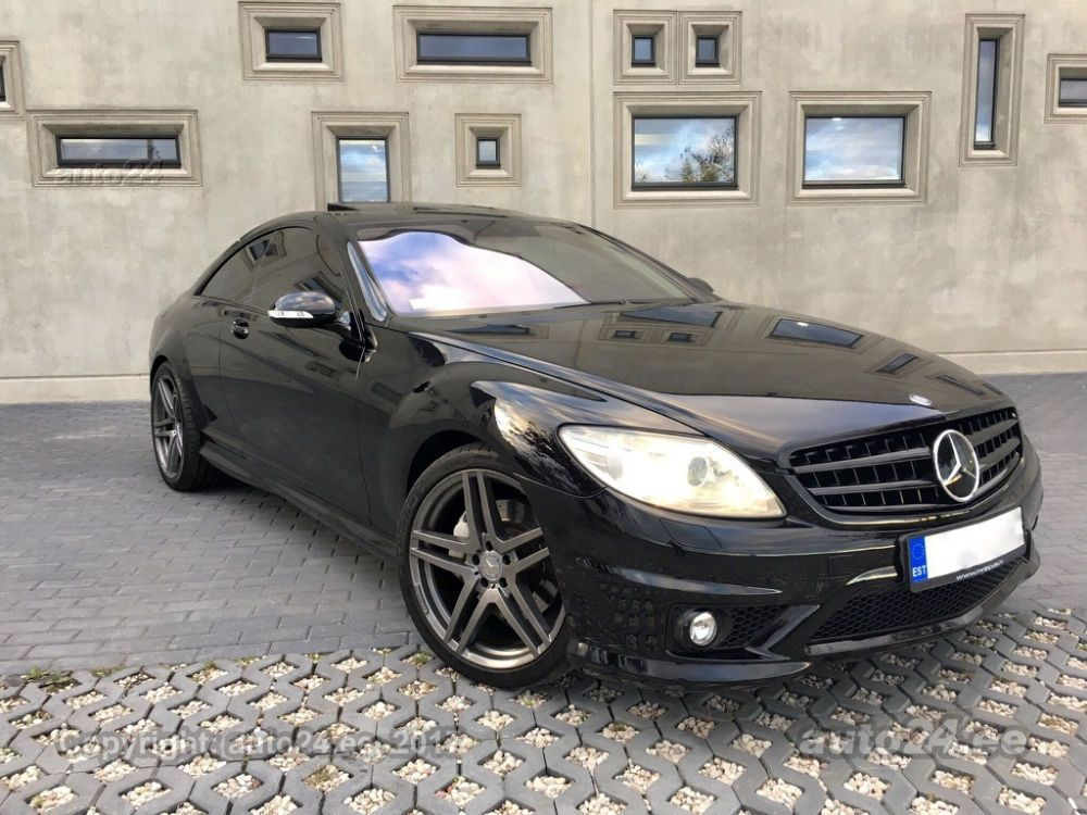 Mercedes-Benz CL 500 AMG 63 Optic 5.5 V8 285kW