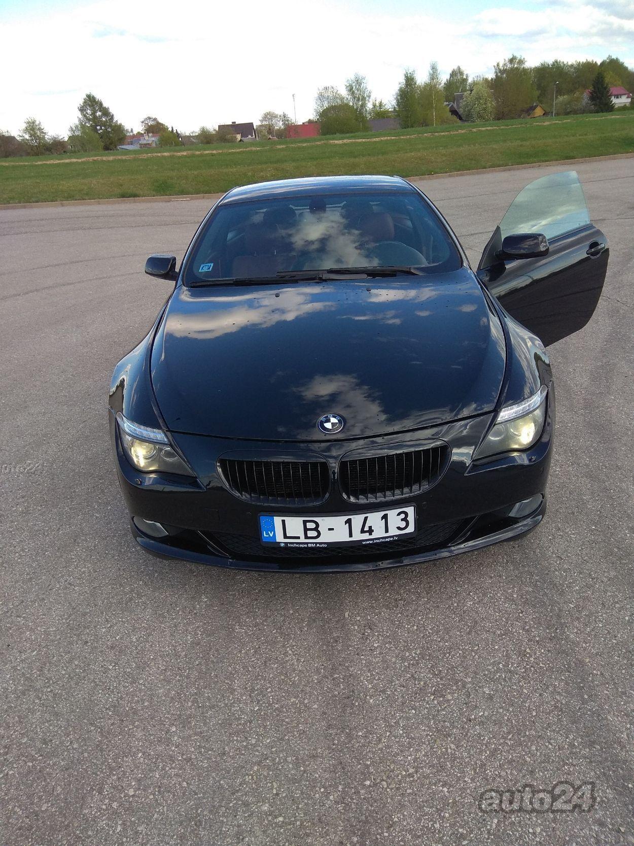 BMW 650 e63 4.8 270kW
