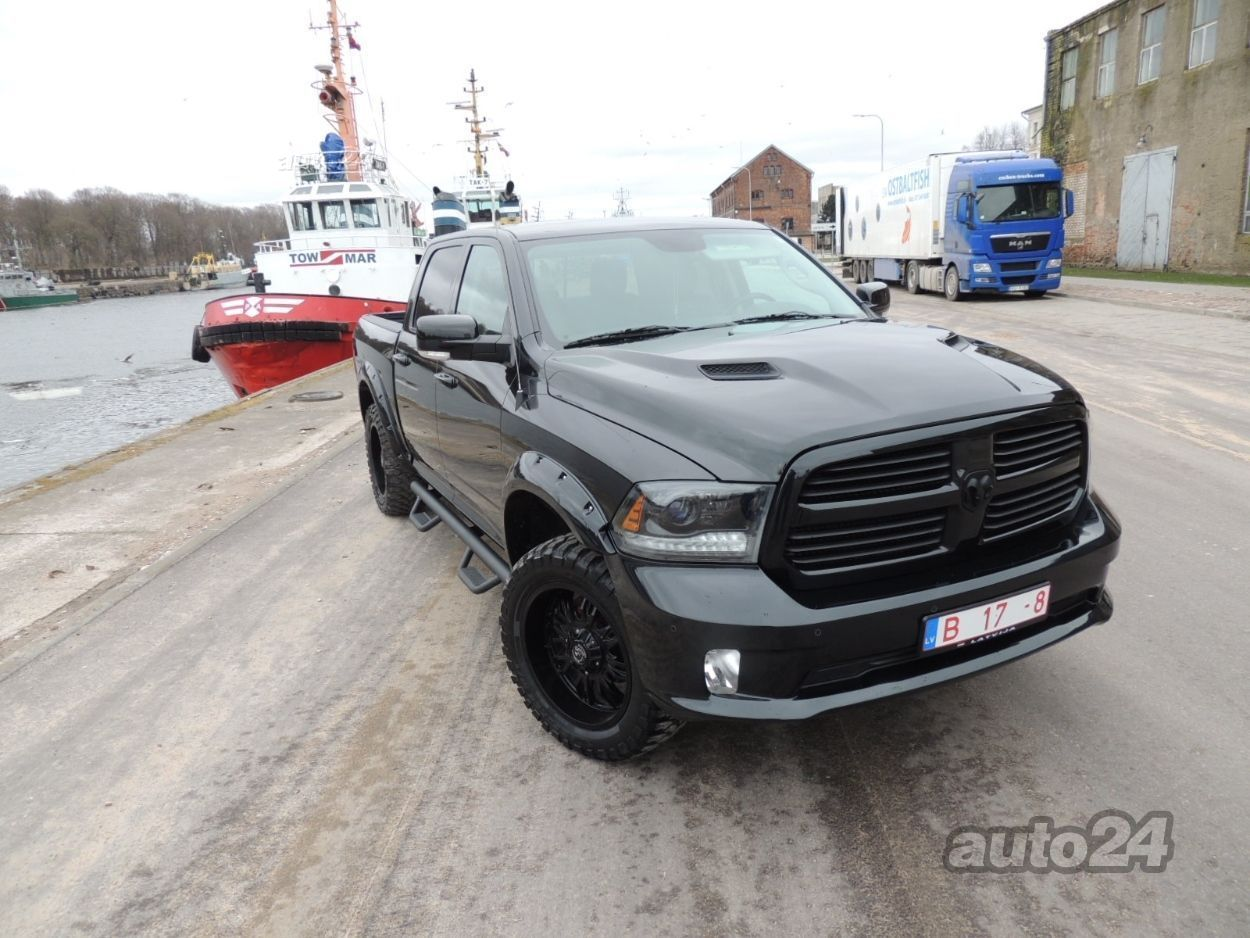 Dodge Ram 1500 Sport Black Edition 57 Hemi Auto24lv