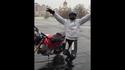 VIDEO: Jääl kihutaja uputas Ducati Multistrada