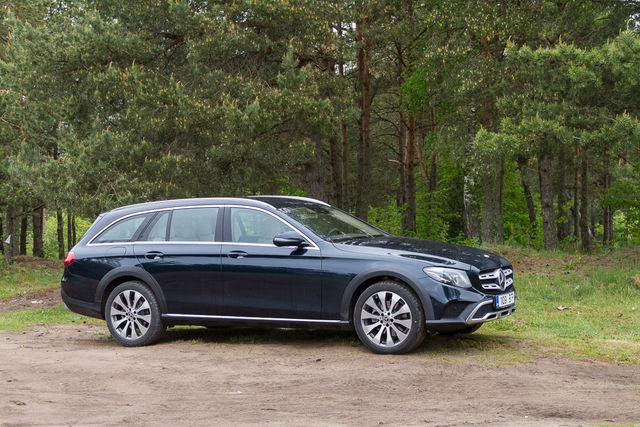 Motorsi proovisõit - Mercedes E220d All-Terrain