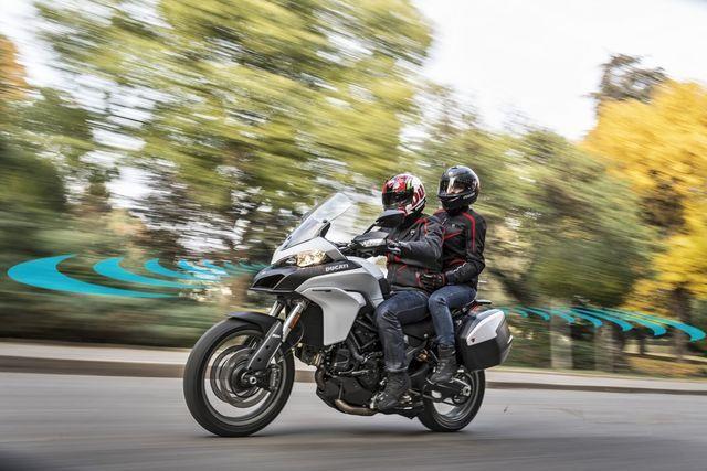 Ducati soovib muuta mootorrattaid turvalisemaks. Foto: Ducati