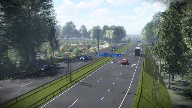 Uus teelõik. Foto: Maanteeamet
