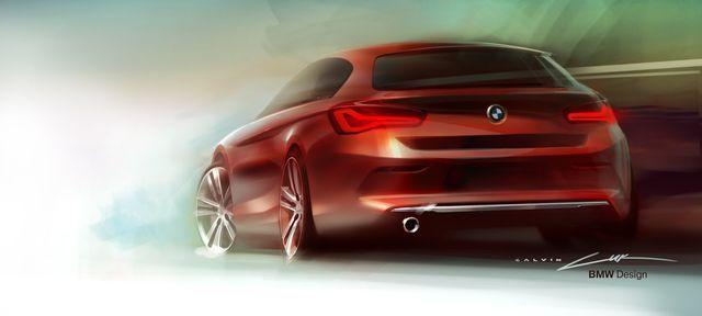 Uus 1. seeria. Foto: BMW