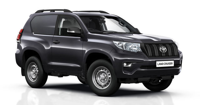 Toyota Land Cruiser Utility Commercial. Foto: Toyota