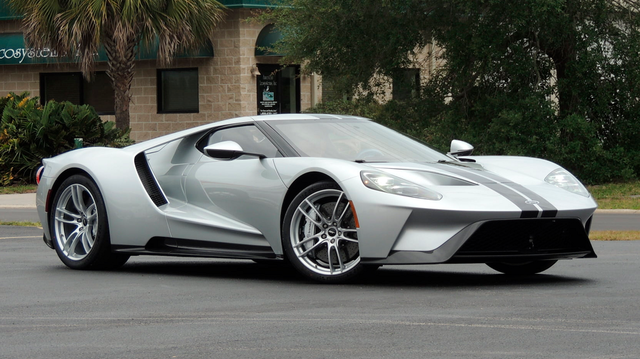 Ford GT. Foto: Mecuum Auctions