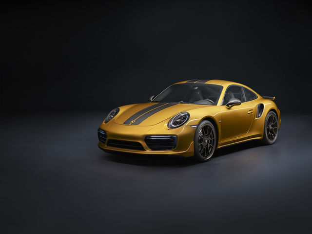 Porsche 911 Turbo S Exclusive Series. Foto: Porsche