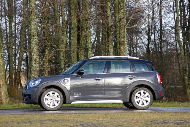 MINI Cooper S E Countryman ALL4. Foto: Laas Valkonen