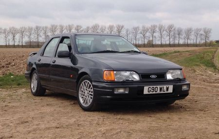 Jeremy Clarksoni Ford Sierra RS Cosworth. Foto: CCA