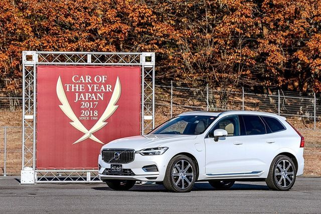 Jaapani aasta auto: Volvo XC60. Foto: Car of the Year Japan