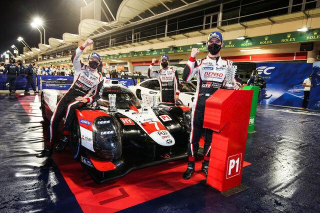 Toyota võidukas meeskond. Foto: Toyota Gazoo Racing
