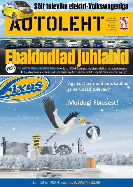 Autoleht, 31. oktoober. Foto: Autoleht