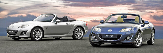 Palju muu kõrval kiideti Mazda väikest sportautot soodsa hinna eest: 2006. aastal maksis see alla 300000 krooni (ehk alla 19000 euro). Praegu saab selle kätte alates u 5000 eurost. Foto: Mazda