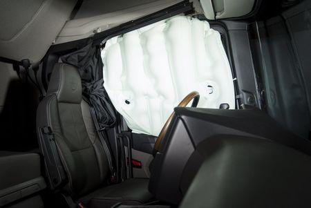 Scania uhiuus külgturvapadi. Foto: Scania