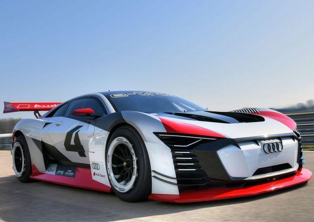 Audi e-Tron Vision Gran Turismo. Foto: Audi