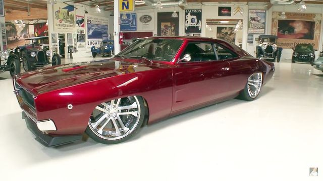 Johan Erikssoni Dodge Charger. Kaader: Youtube