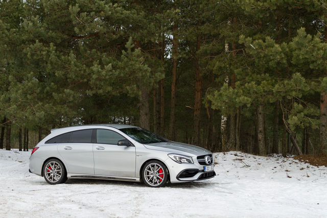 Motorsi Proovisõit - AMG CLA 45 Shooting Brake