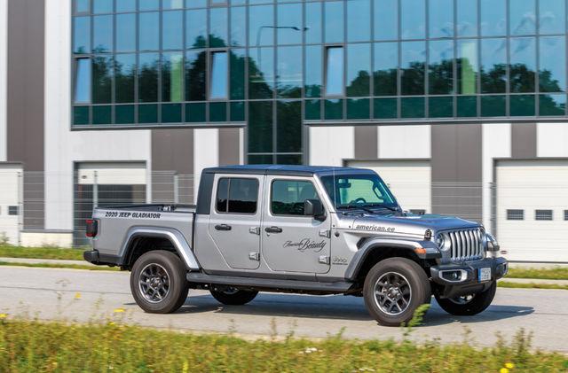 Jeepi pikapi saab osta Ameerikast tellides, Euroopas tuleb see müügile järgmisel aastal. Foto: Pille Russi