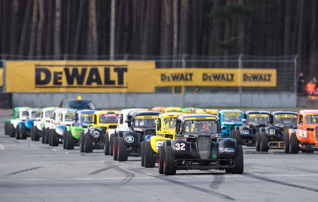 Legend cars. Foto: Baltic TCC