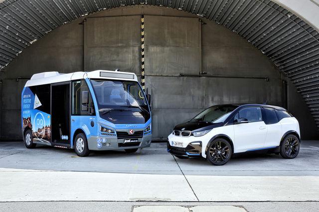 Mootorite ja akude poolest vennad. Foto: BMW