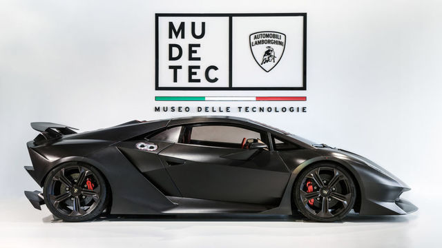 Lamborghini uus muuseum. Foto: Lamborghini